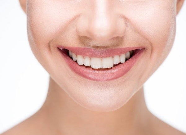 Beautiful smile and healthy teeth cosmetic dentistry
